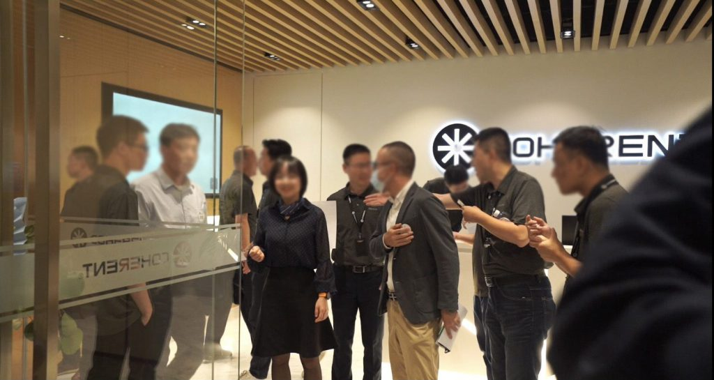 Customers celebrate opening of new lab in Shenzhen China