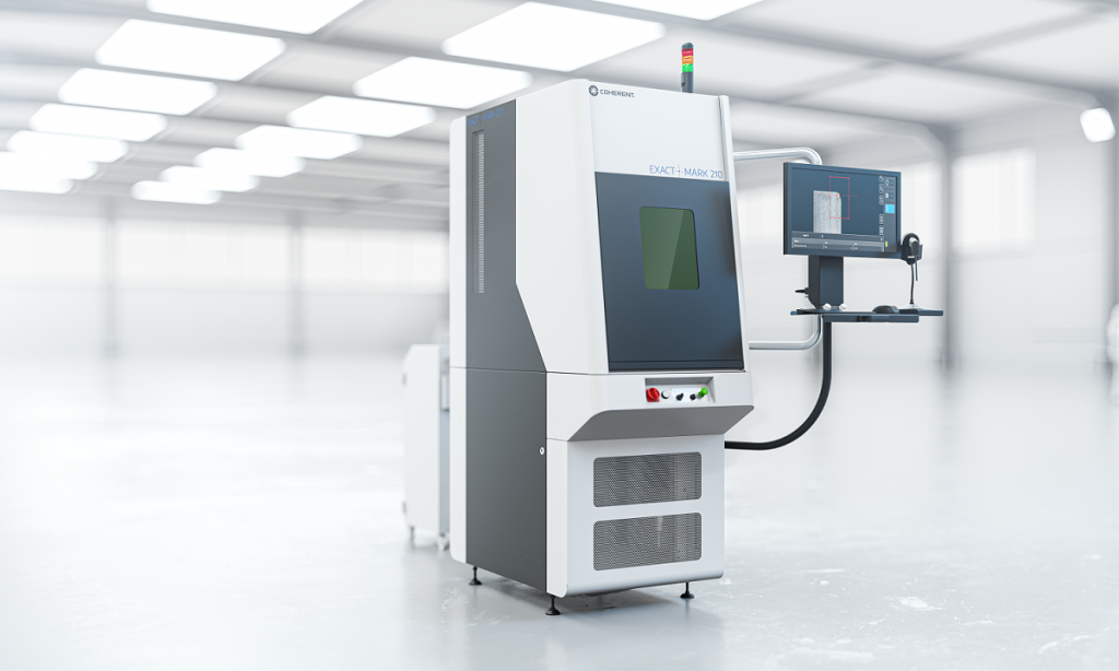 Coherent ExactMark 210 Laser Marking System
