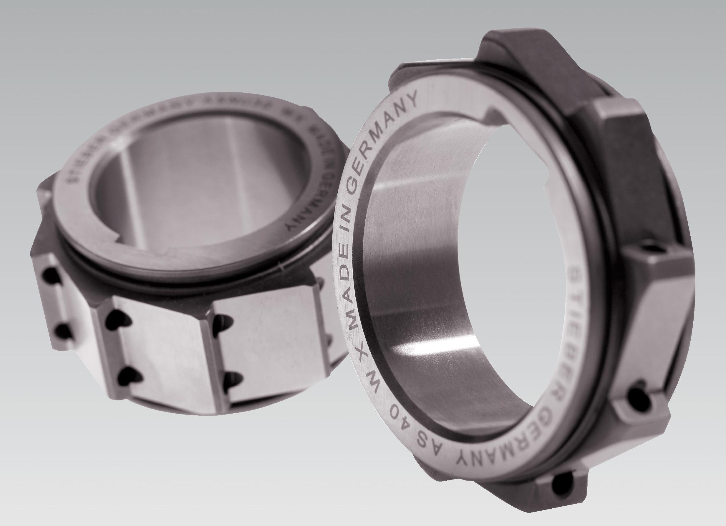 Permanent laser marking on metal ring