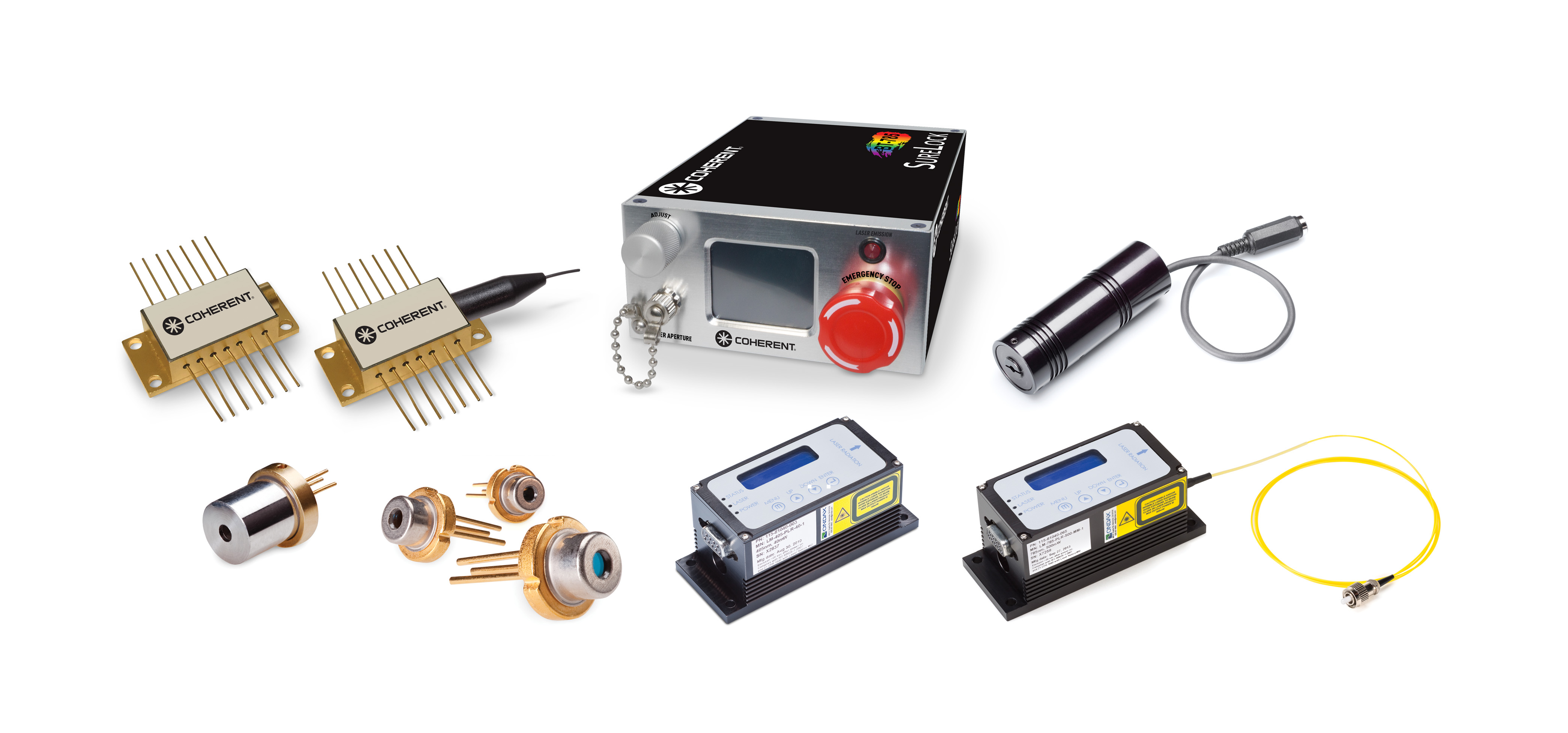 SureLock Wavelength Stabilized Laser Diode Modules