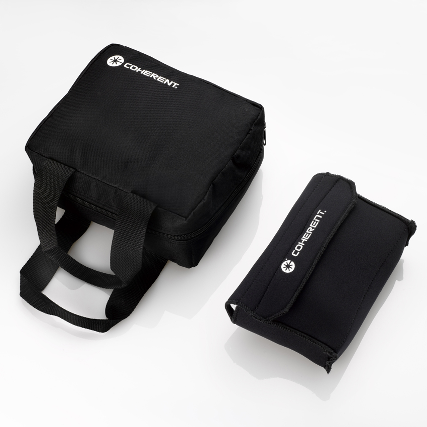 Soft carrying cases for FieldMate, FieldMaxII, and LabMax