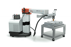 Laser Welding Systems Side View EVO MOBILE