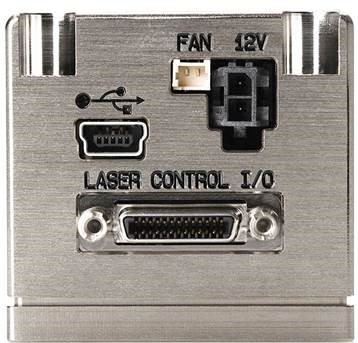 Continuous wave CW laser with fiber delivery