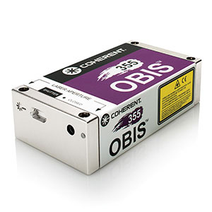 OBIS High power continuous wave CW ultraviolet UV 355 nm laser datasheet