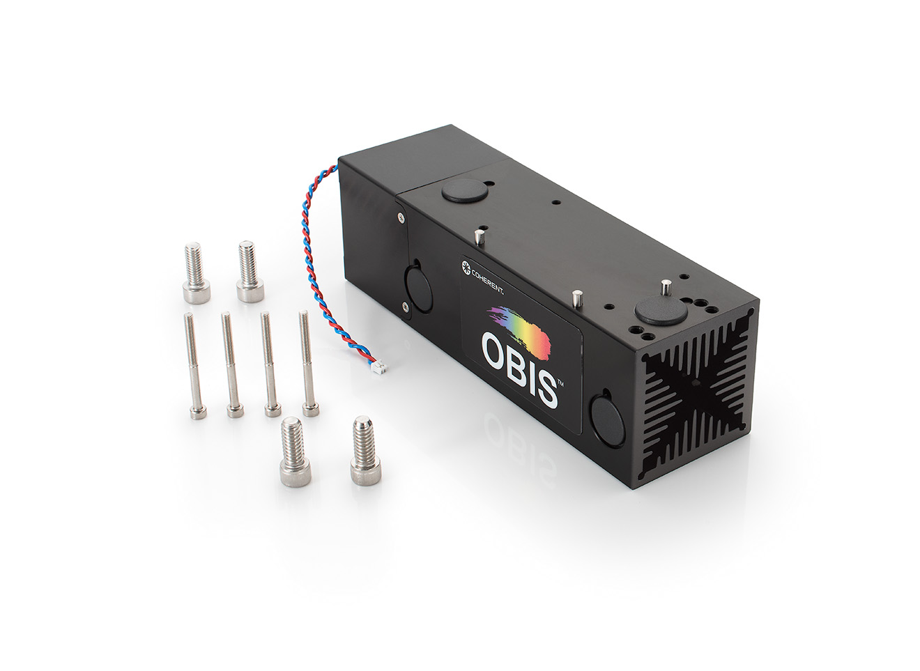 OBIS LX/LS Heat Sink Front
