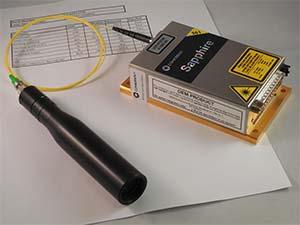 Custom OEM Subsystem, sapphire laser