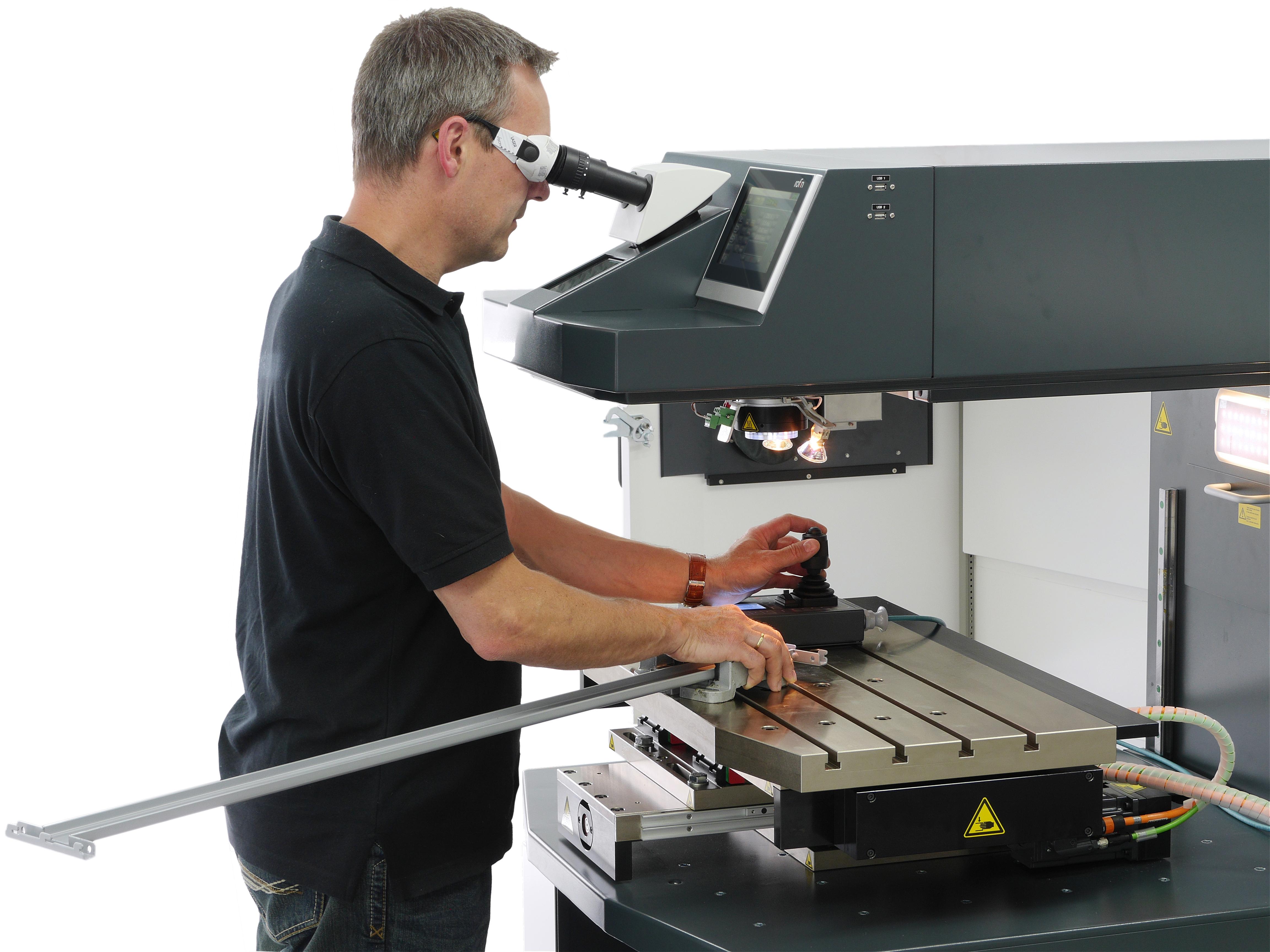 Integral laser welding system