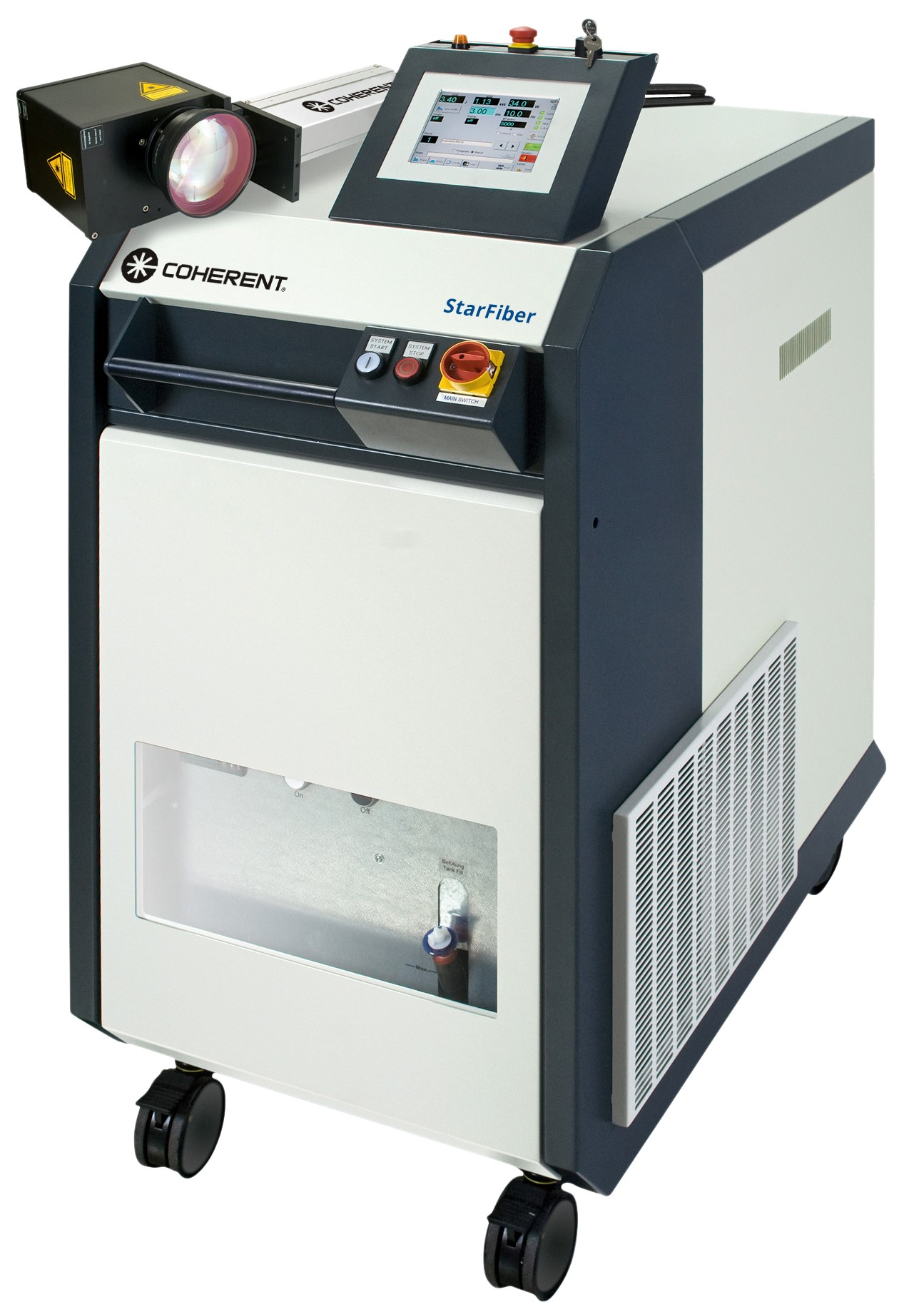 StarFiber 100-600 Fiber Laser for Fine Welding, Cutting, and Drilling