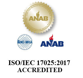 ISO 17025 Accreditation