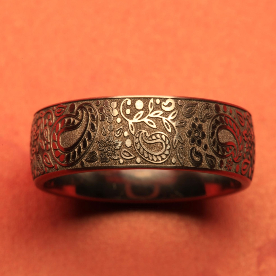 Marking and Engraving of Rings