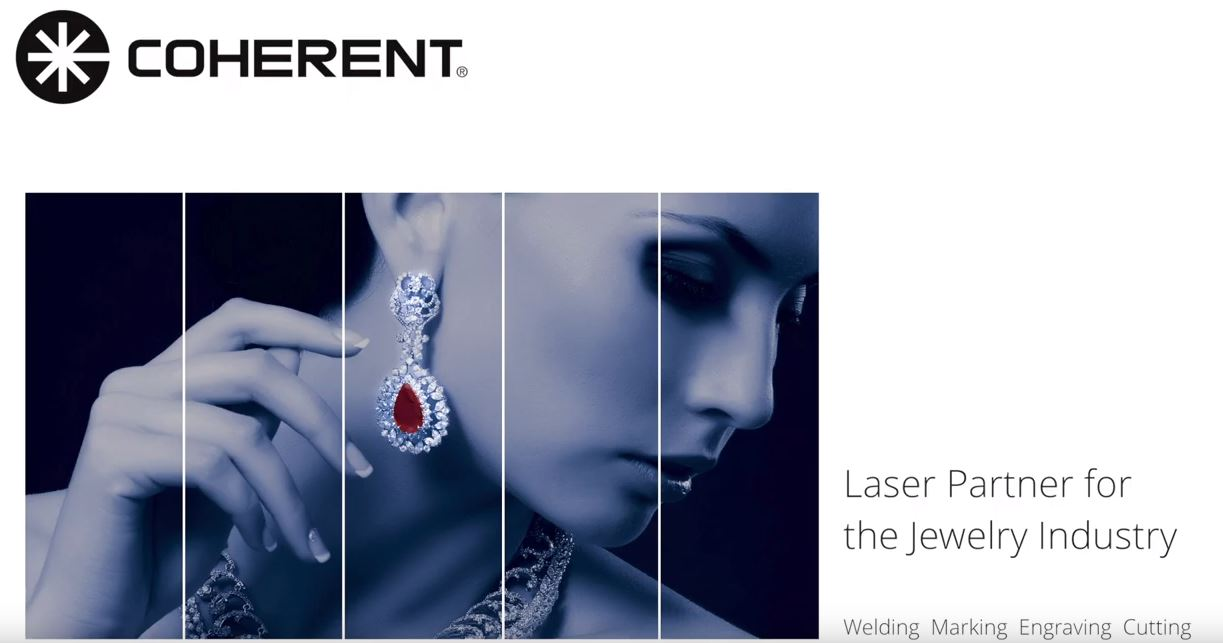 Coherent - Laser Partner for the Jewelry Industry