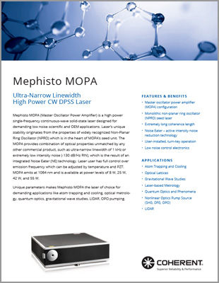 Mephisto MOPA Data Sheet