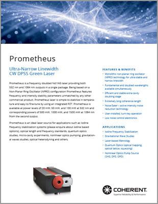 Prometheus Data Sheet