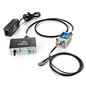 OBIS 458nm LX 200mW Laser System, Fiber Pigtail, FC