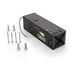 OBIS Heat Sink Mount with Fan for Thermal Management